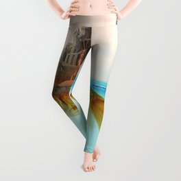 Goldfish Castle Island Leggings