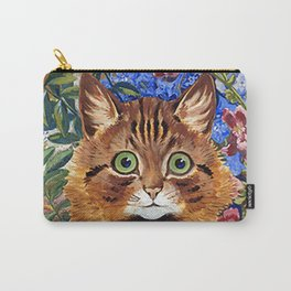 Louis Wain's Cats - Cat In the Garden Carry-All Pouch