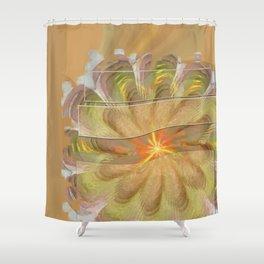 Sluffed Raw Flower  ID:16165-085108-61771 Shower Curtain