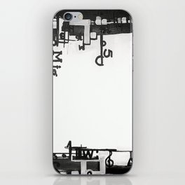 TYPOGRAPHiKA iPhone Skin