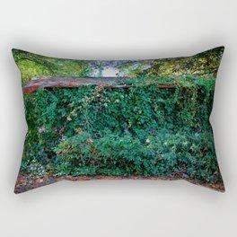 Hidden Shed Rectangular Pillow