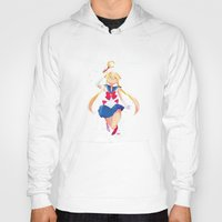sailor moon Hoodies featuring Sailor Moon by Ellen Su
