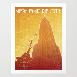 New Empire City Art Print