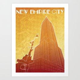 New Empire City Art Print