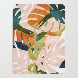 Monstera delight Poster