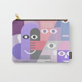 Large Group of People Carry-All Pouch