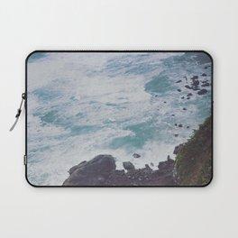 Blue Ocean - Seals on Rocks Laptop Sleeve