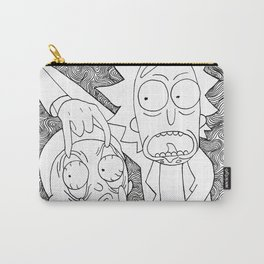 Rick n Mmmmortyy Carry-All Pouch