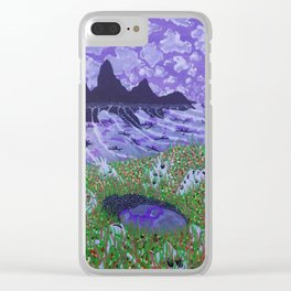Meeting of the Minds Clear iPhone Case