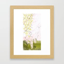 Fairy Garden Framed Art Print