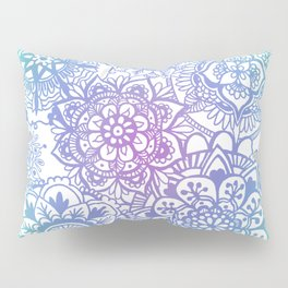 Pastel Mandala Pattern Pillow Sham
