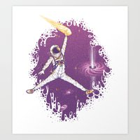 space jam Art Prints featuring Space Jam by Made With Awesome