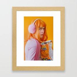graeme as me Framed Art Print