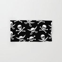 Pirateskulls Hand & Bath Towel