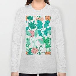 Postmodern Planters in White Long Sleeve T-shirt