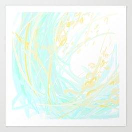 Wattle Art Print