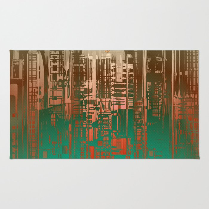 Over the Green / Density Series Rug