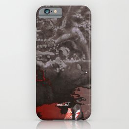 How the Ink Moves X iPhone Case
