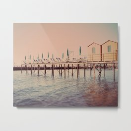 Sorrento pier Metal Print