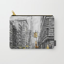 new york painting Carry-All Pouch
