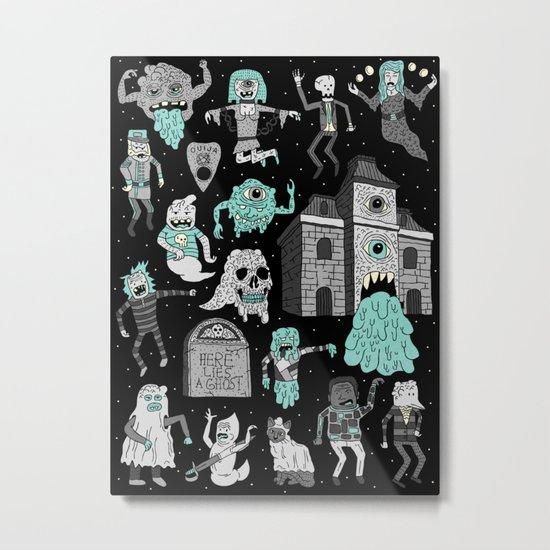 Wow! Ghosts!  Metal Print