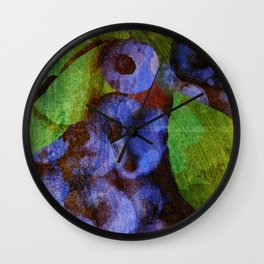 Fruits - Mirtilo Wall Clock
