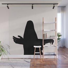 Figure artwork - Calvin silhouette Wall Mural