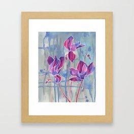 Soft Surrender  Framed Art Print
