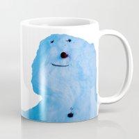 snowman Mugs featuring Snowman  by AstridJN