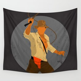 Indiana Cracked Texture Wall Tapestry