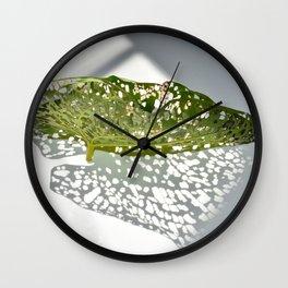 Leaf Light III Wall Clock