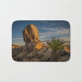 Joshua Tree Rock Formation Bath Mat