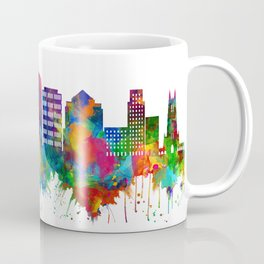 Durham North Carolina Skyline Coffee Mug