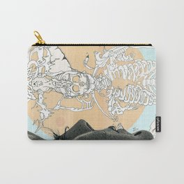 el centro pastel Carry-All Pouch