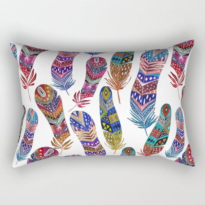 Feathers 1 Rectangular Pillow