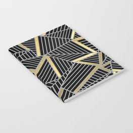 Ab 2 Silver and Gold Notebook