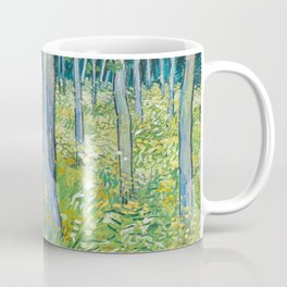 Undergrowth with Two Figures by Vincent van Gogh Coffee Mug