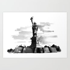 Statue of Liberty Art Print