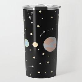 For You - Solar System Illustration Travel Mug