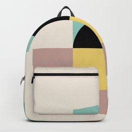 Geometric Shapes Abstract Backpack