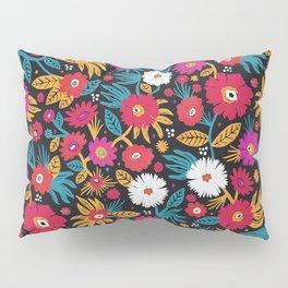 Flower pattern by Veronique de Jong Pillow Sham