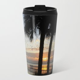 Two Trees River Sunrise Travel Mug
