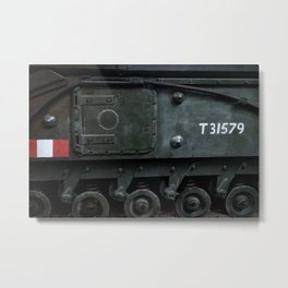 Sidehatch and Bogie Wheels Metal Print