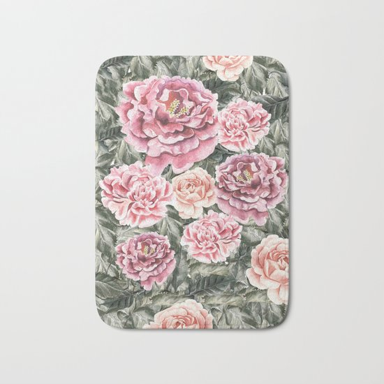 Summer Garden II Bath Mat