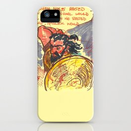 Joshua iPhone Case