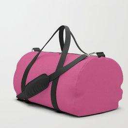 Pink Yarrow | Pantone Fashion Color Spring : Summer 2017 | Solid Color Duffle Bag