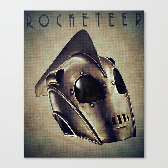 ROCKETEER! Canvas Print
