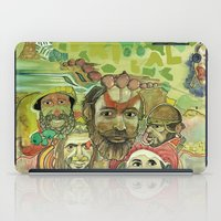 guinea pig iPad Cases featuring guinea by PA'LANE
