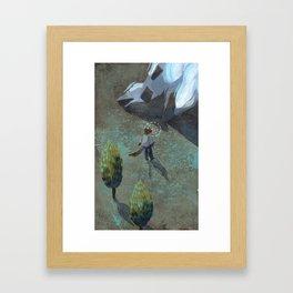A Bold Stone Framed Art Print