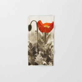 Poppy Red 0171 Hand & Bath Towel